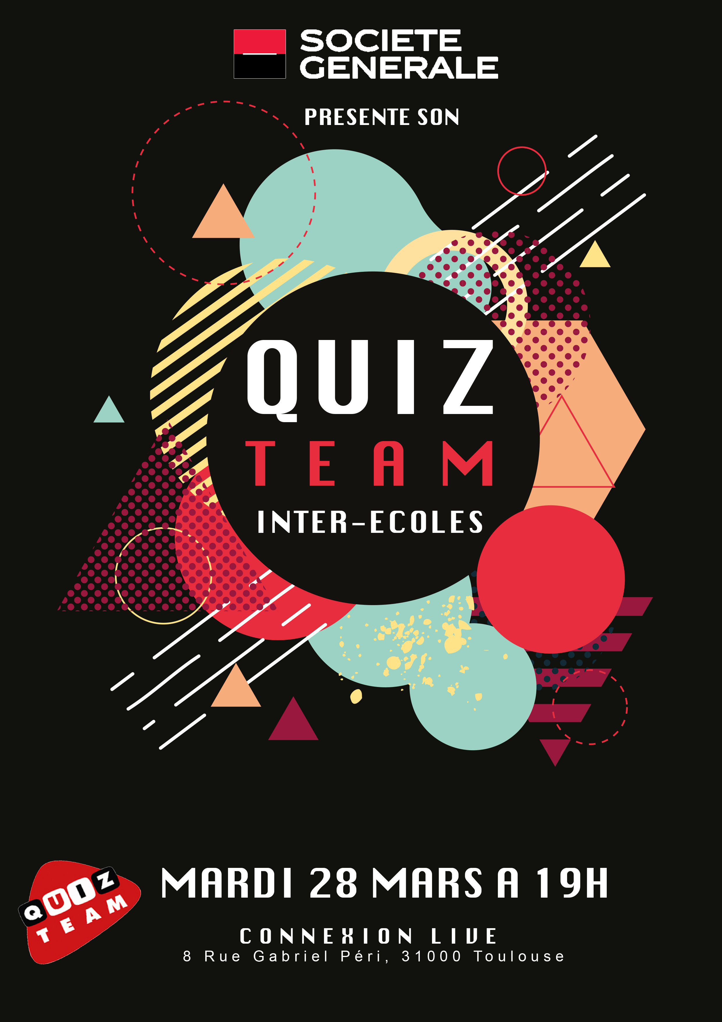 Affiche Quiz Team Toulouse 2017