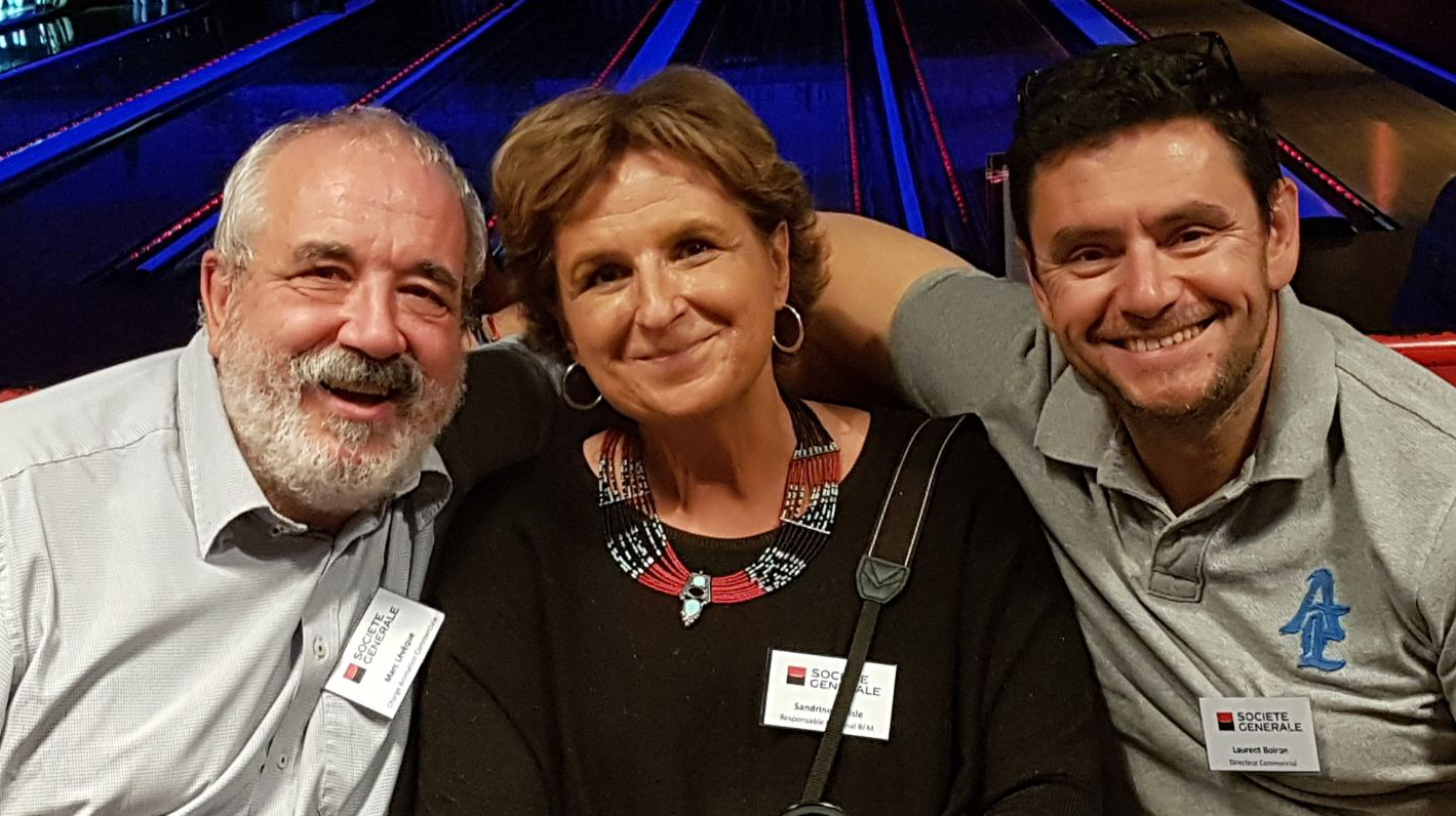 Marc, Sandrine et Laurent